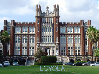 marquette hall at Loyola University