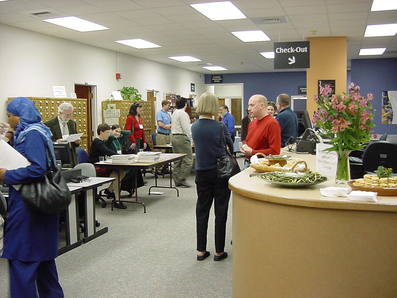 Registration and Opening Reception,  UNC–Chapel Hill Music Library.