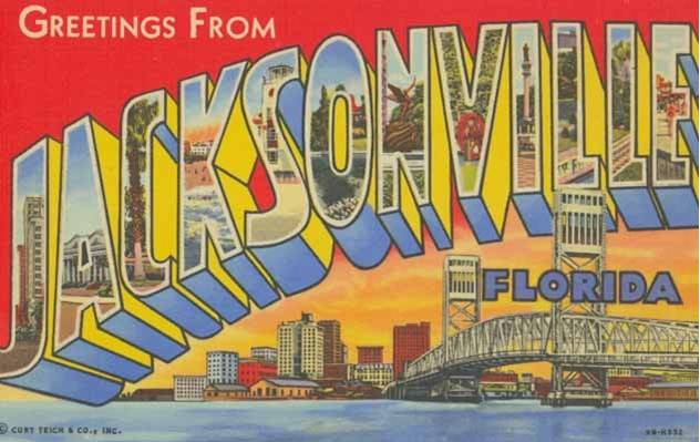 Postcard from Jacksonville, FL