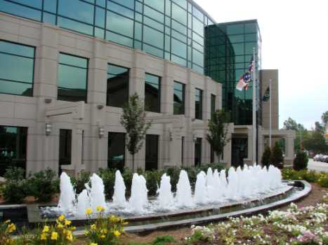 New city hall in Greenville, NC