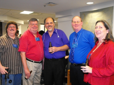 Lenny Bertrand, Keith Chapman, John Brower, Bruce Hall, and Mary Du Mont Brower